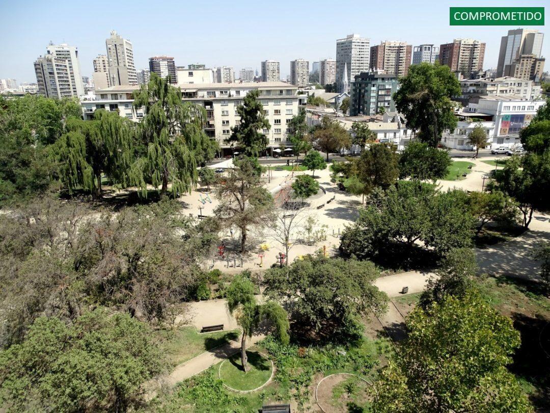 Frente al Parque Bustamante